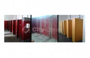 Remodelação de casa de banho aplicação em fenólicos