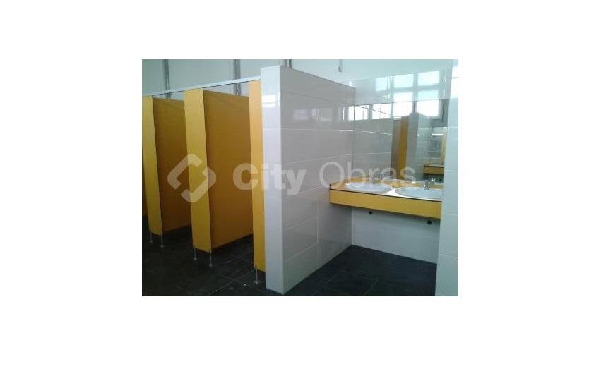 Remodelação de casas de banho escola
