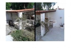 Remodelação em area externa de moradia