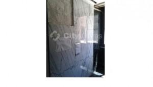 Remodelação parede revestida a marmore