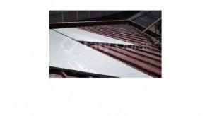 Substituição de cobertura telhas
