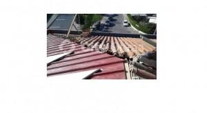 Substituição de telhas