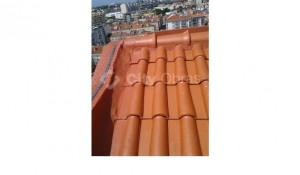 aplicação de impermeabilização em telhas