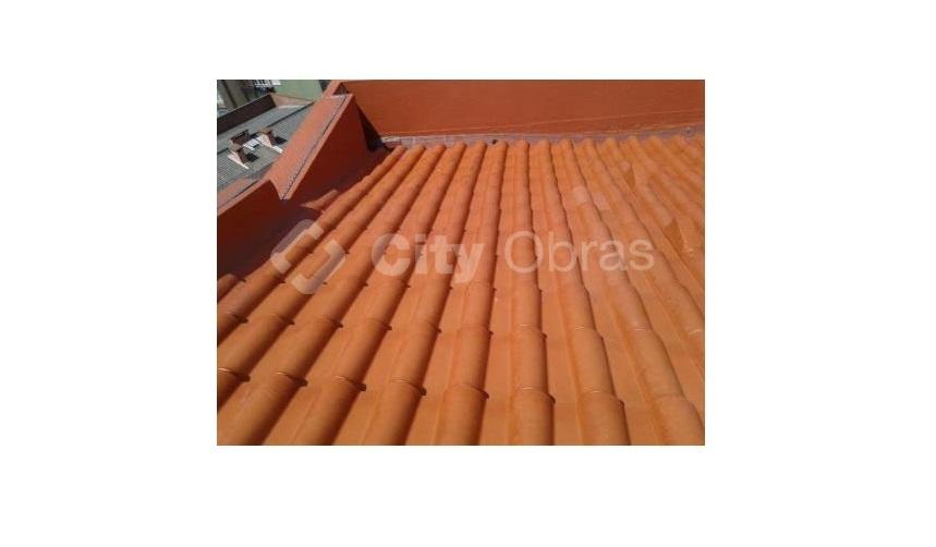 cobertura substituição de telhas
