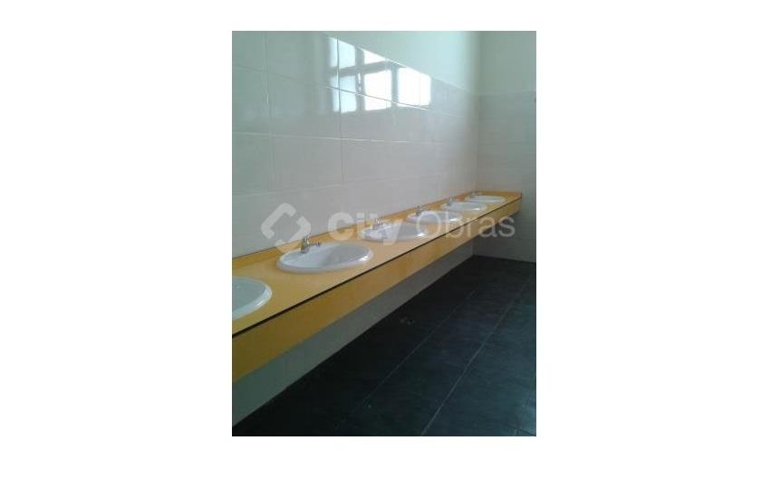 lavatórios em reodelação de casas de banho
