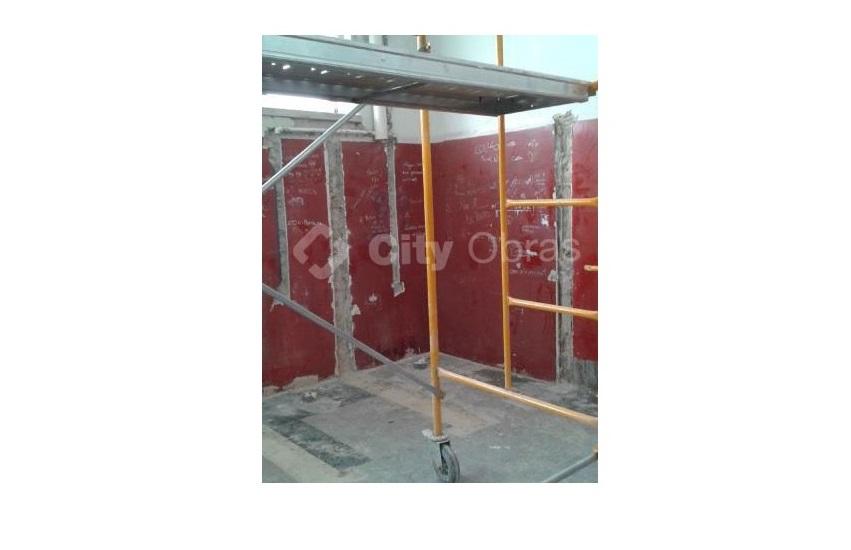 remodelação de casas de banho em escolas