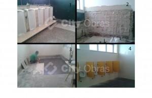 remodelação de casas de banho mictório