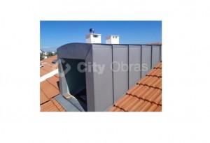 remodelação de vivenda impermeabilização de cobertura