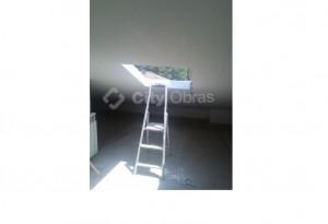 remodelação de vivenda janela de teto