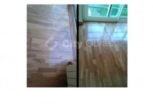 remodelação em interiores substituição de pavimento