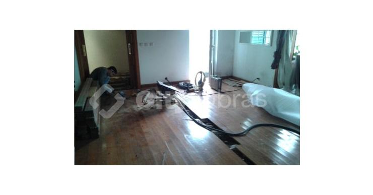 remodelações de interiores pavimento