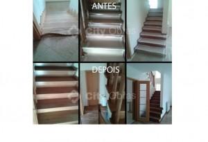 remodelações em inteiores reabilitação de escadas