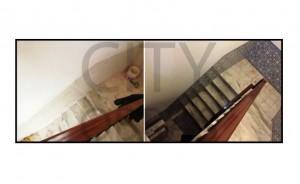 Remodelação de escadas em vivenda
