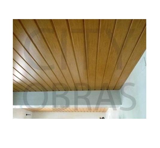 Remodelação de teto em PVC