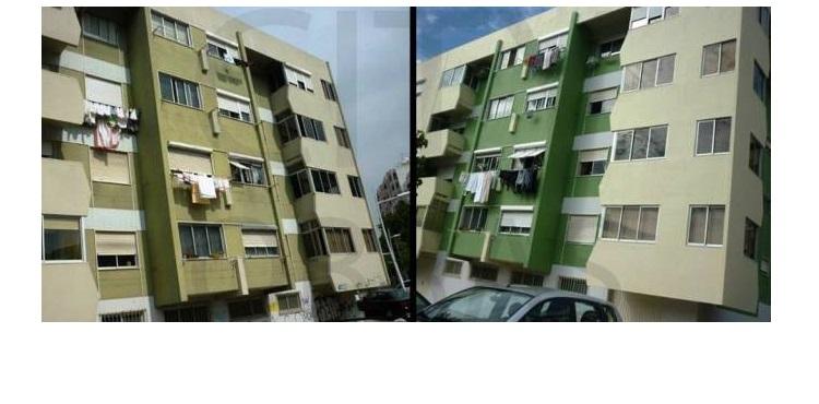 Reparação de fachada