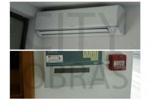 construção de clínica climatização