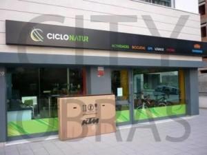 construção de espaço comercial para vendas