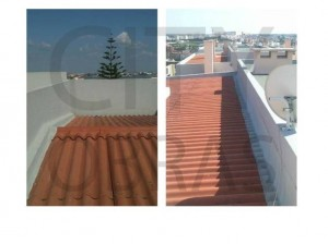 impermeabilização de cobertura de edifício