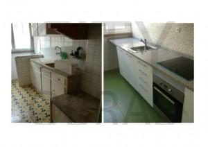 reabilitação de cozinha