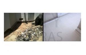 reabilitação de terraços