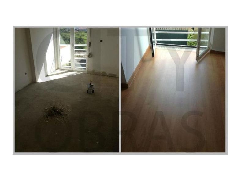 remodelação de apartamento aplicação de pavimento