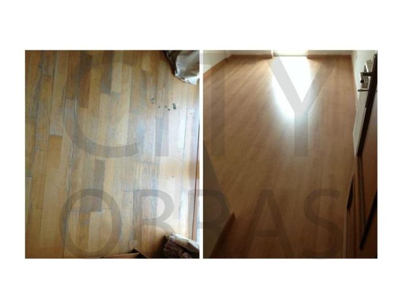 remodelação de apartamento substituição de pavimento