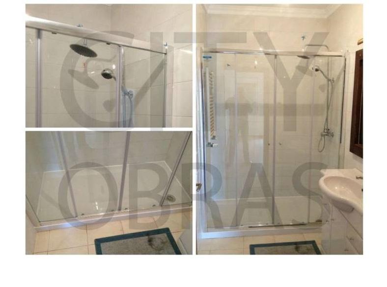 remodelação de casa de banho base de duche