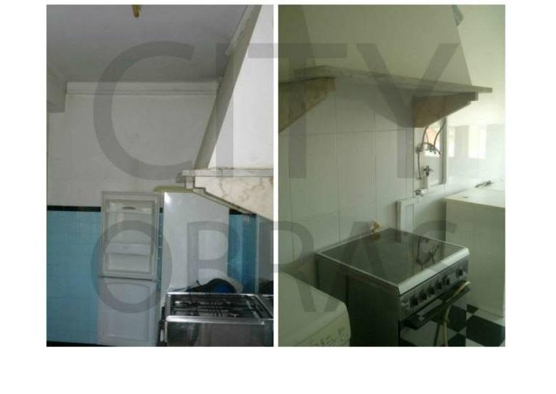 remodelação de cozinha em apartamento