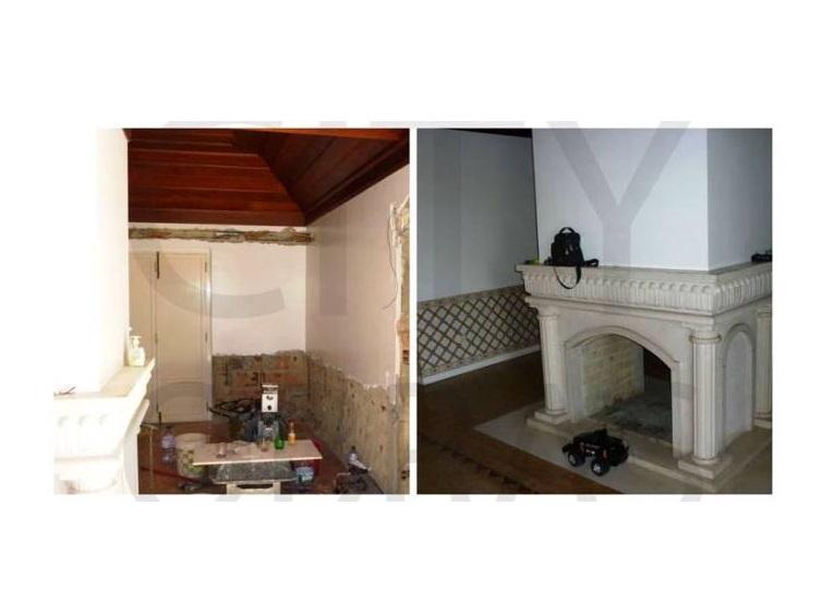 remodelação de interiores lareira