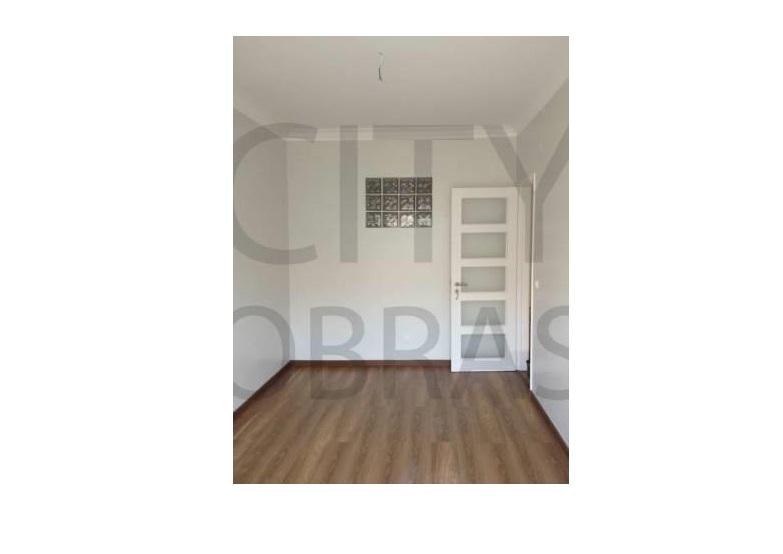 remodelação em apartamento pavimento