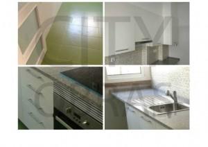 remodelação geral de cozinha