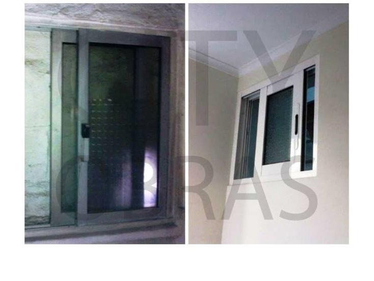 substituição de janela em remodelação