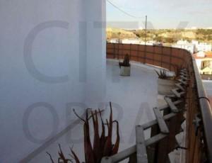 trabalho de impermeabilização de terraço