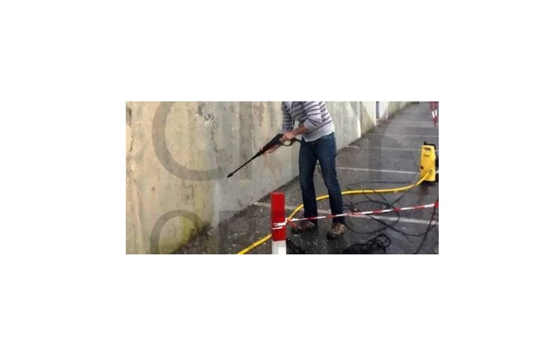 trabalho de recuperação de paredes